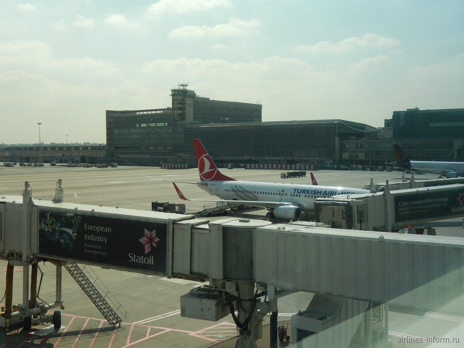 Перрон аэропорта Брюссель