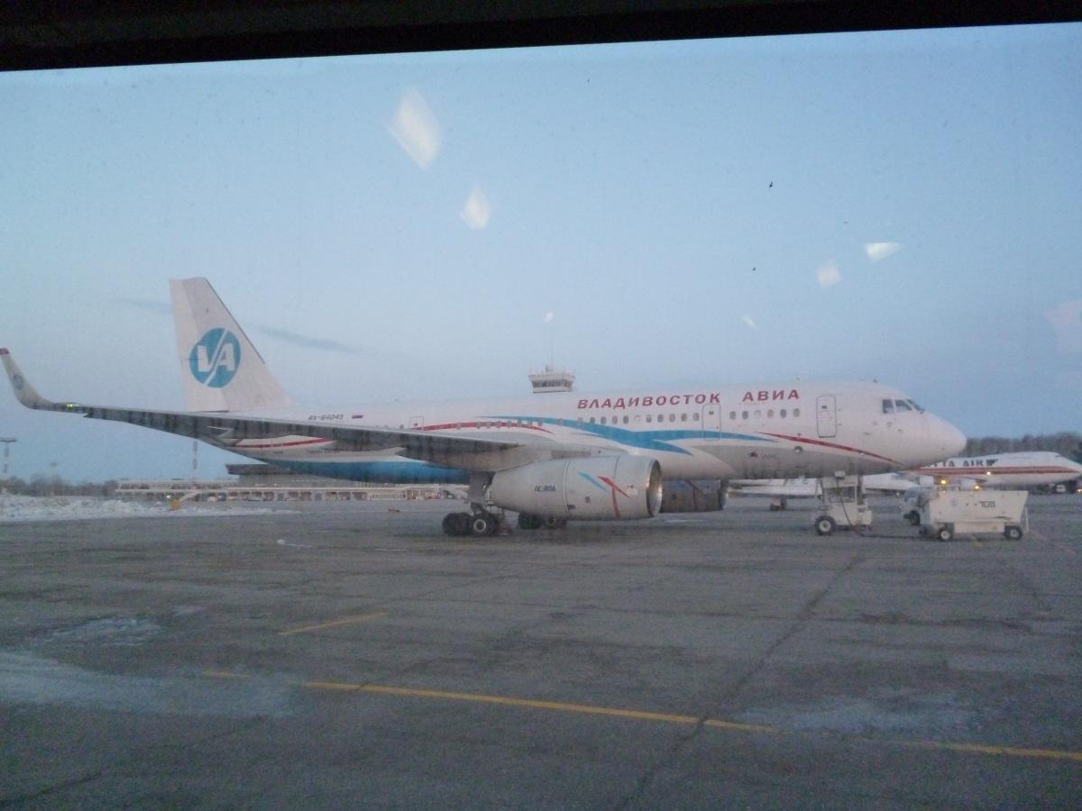 Tu-204-300 of Vladivostok Air