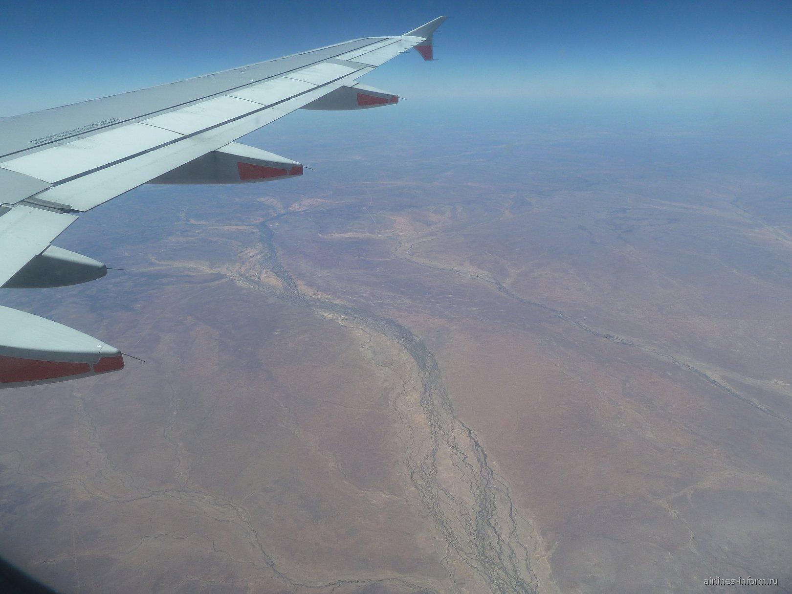 Пустыная в центральной Австралией