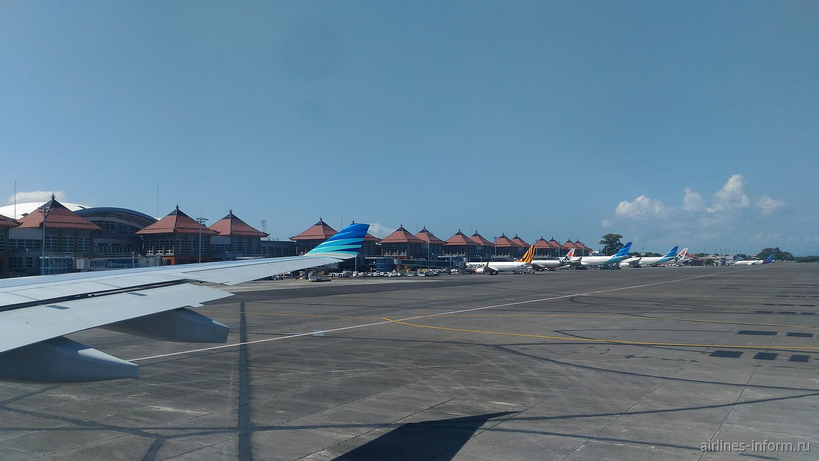 Международный терминал аэропорта Денпасар Нгура Рай