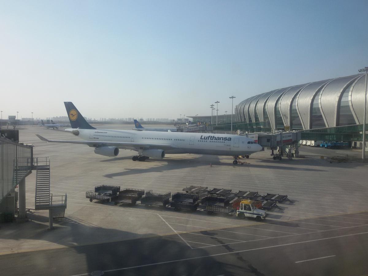 Перрон аэропорта Шэньян Таосянь
