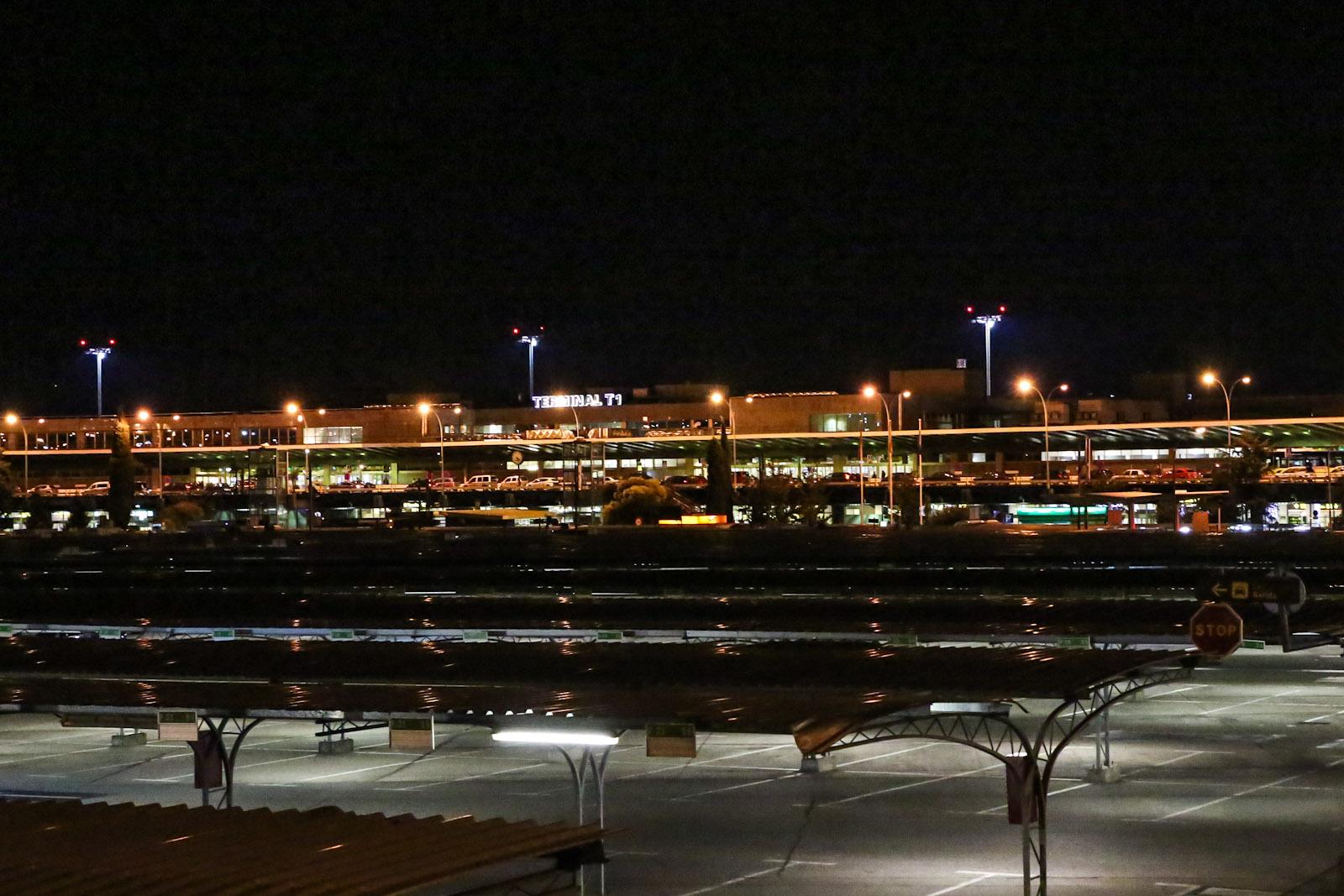 Терминал Т1 аэропорта Мадрид Барахас