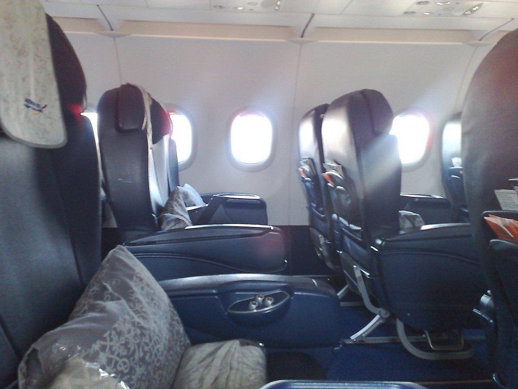 Кресла бизнес-класса Аэрофлота