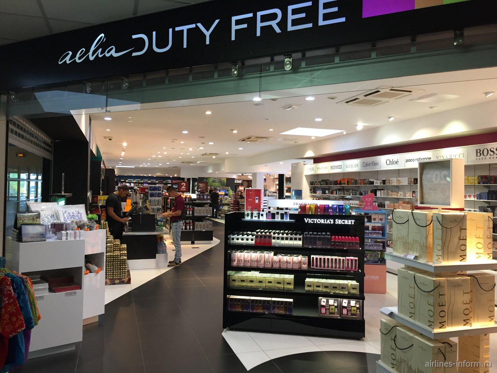 Магазин Duty-Free в аэропорту Нумеа Ла-Тонтута