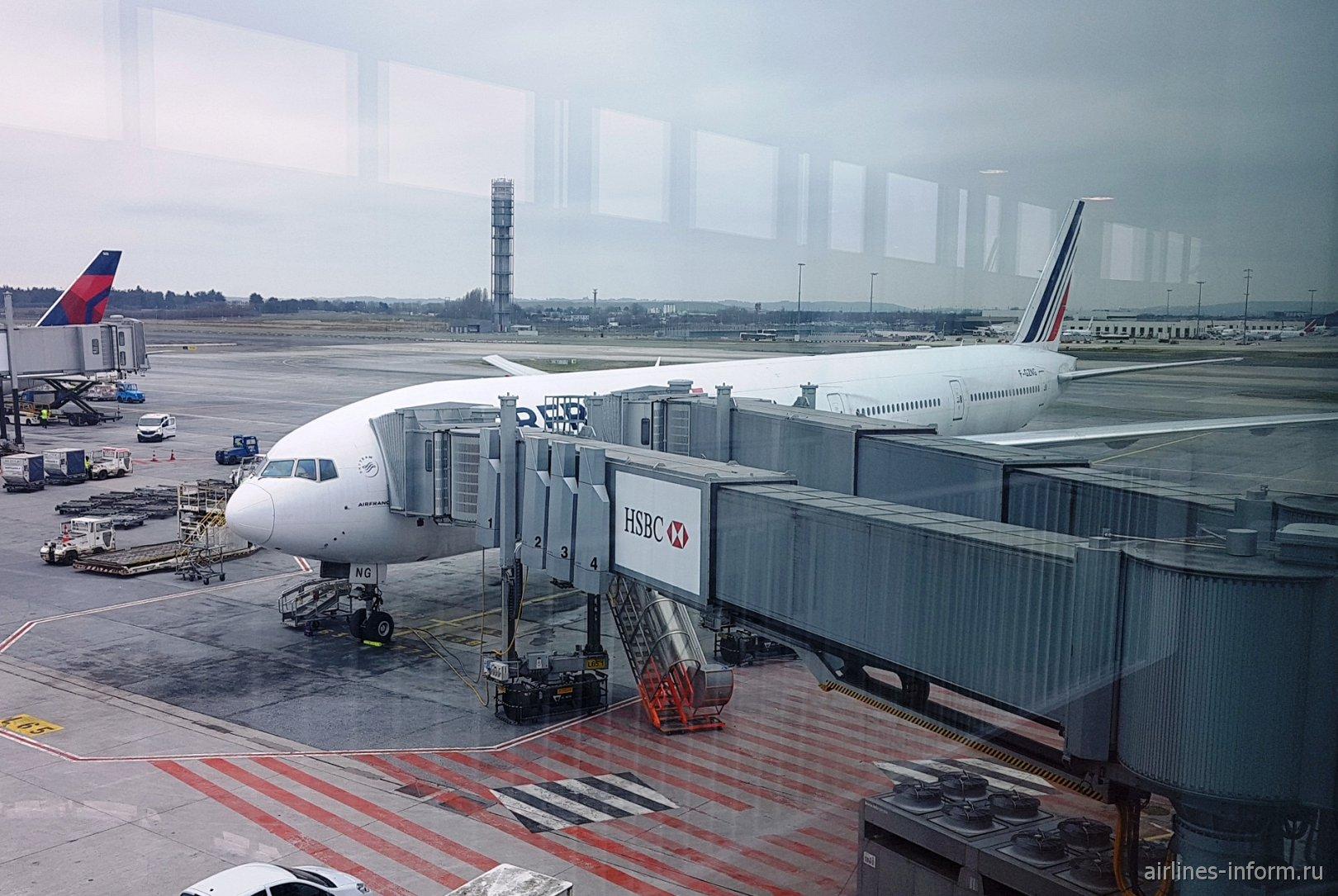 """Гавана (HAV) - Париж (CDG) с """"Air France"""" на Boeing 777-300ER"""