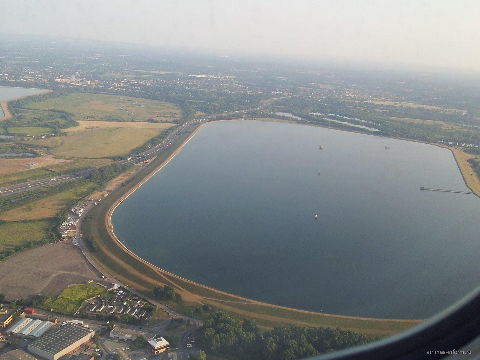 Взлет из лондонского аэропорта Хитроу