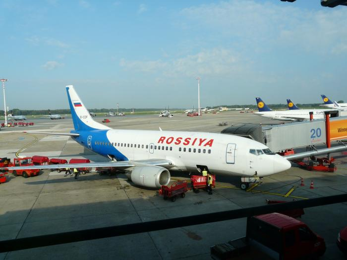 From Hamburg to St. Petersburg with Rossiya Airlines