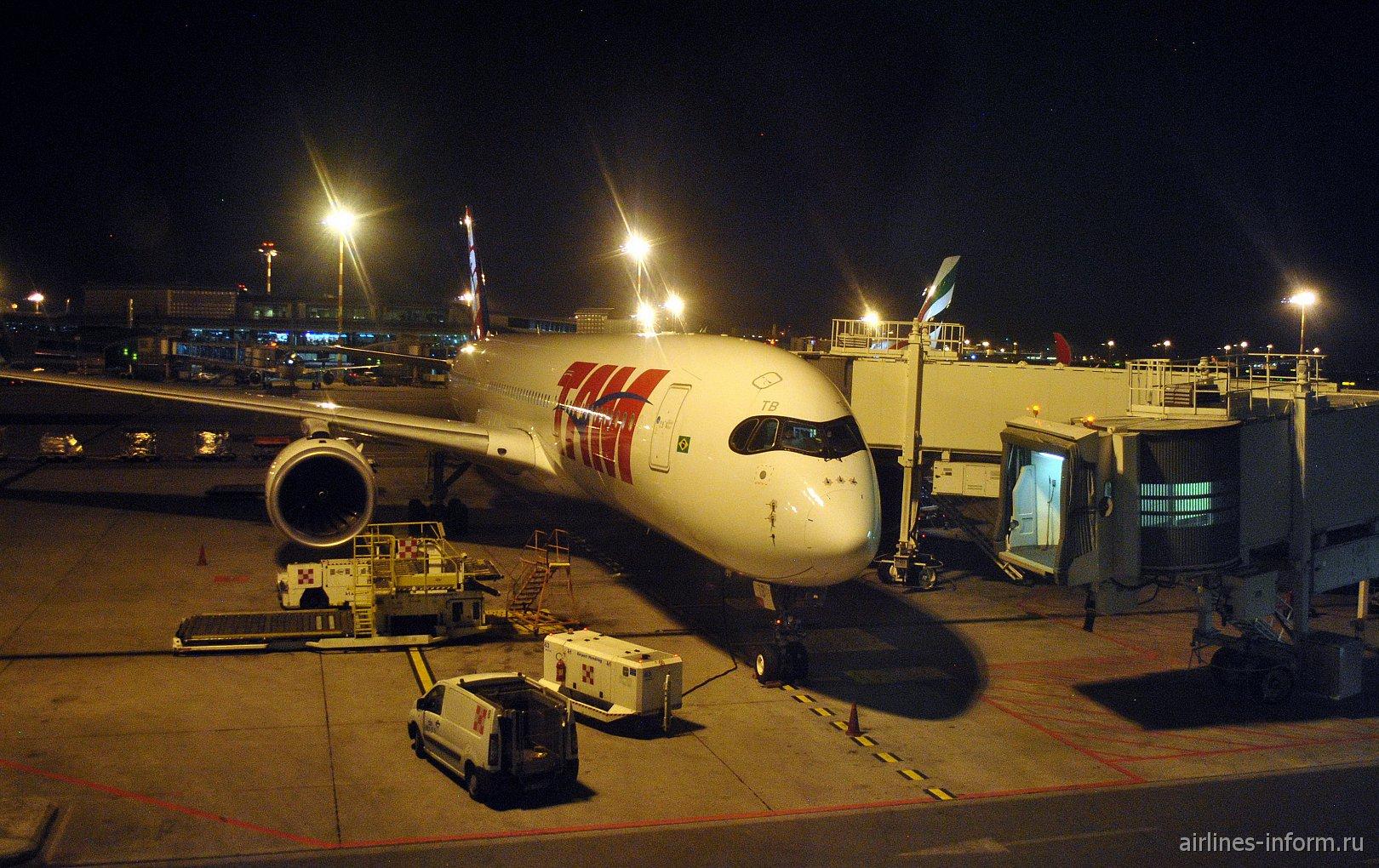"""Memories Of The Future"": Милан Мальпенса (MXP/T1) - Сан-Паулу Гуарульос (GRU/T3) LATAM Brasil LA8063 (JJ8063) на Airbus A350-900XWB"