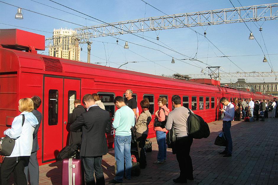 Аэроэкспресс в аэропорт Домодедово на Павелецком вокзале Москвы