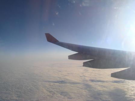 Снижение на самолете Эрбас А-330 Аэрофлота
