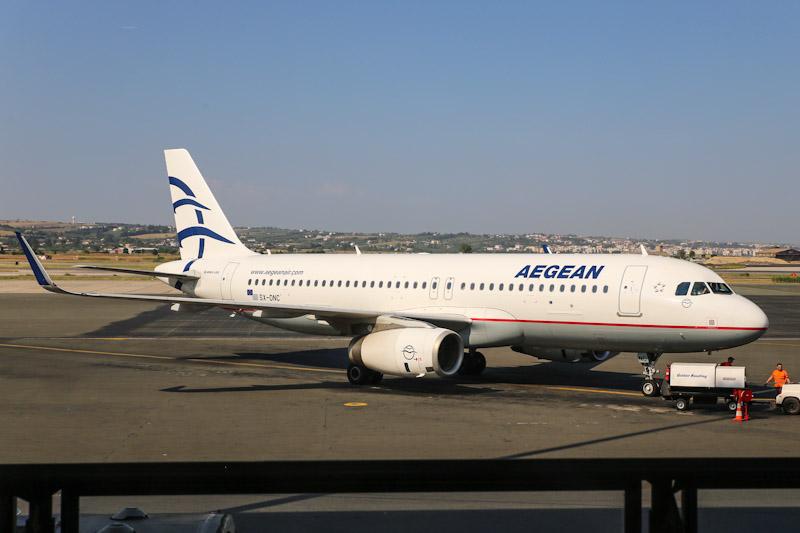 Салоники-Париж с греческой Aegean Airlines