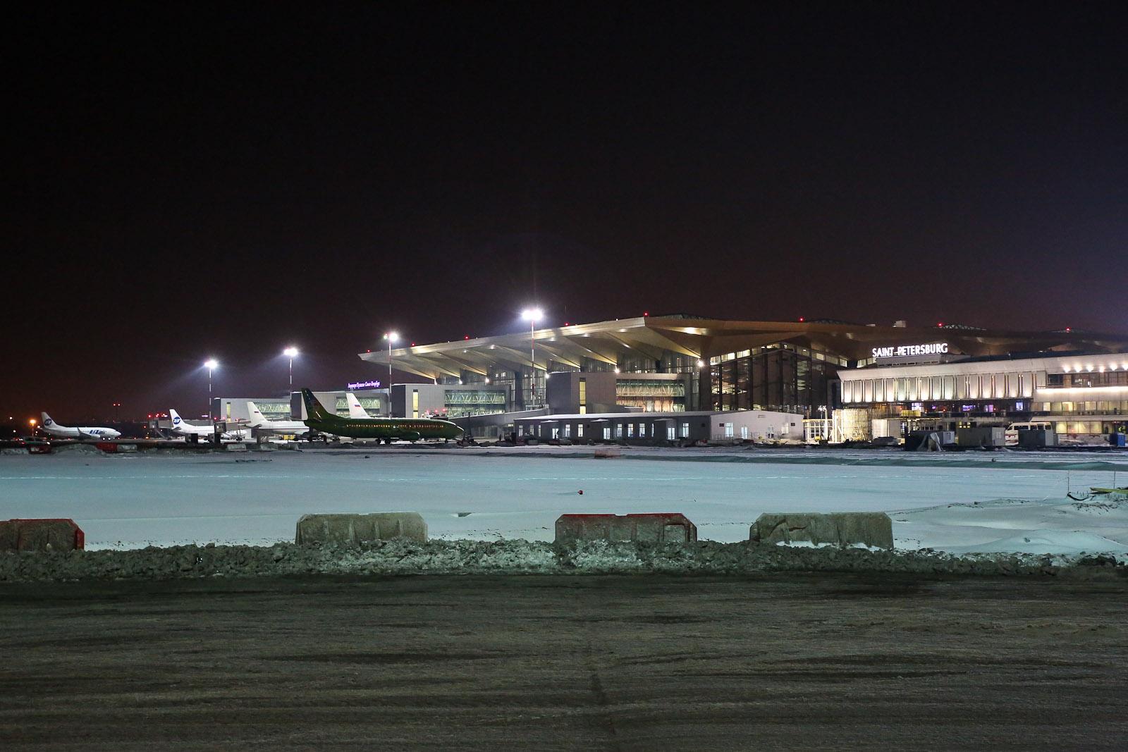 Новый терминал аэропорта Санкт-Петербург Пулково