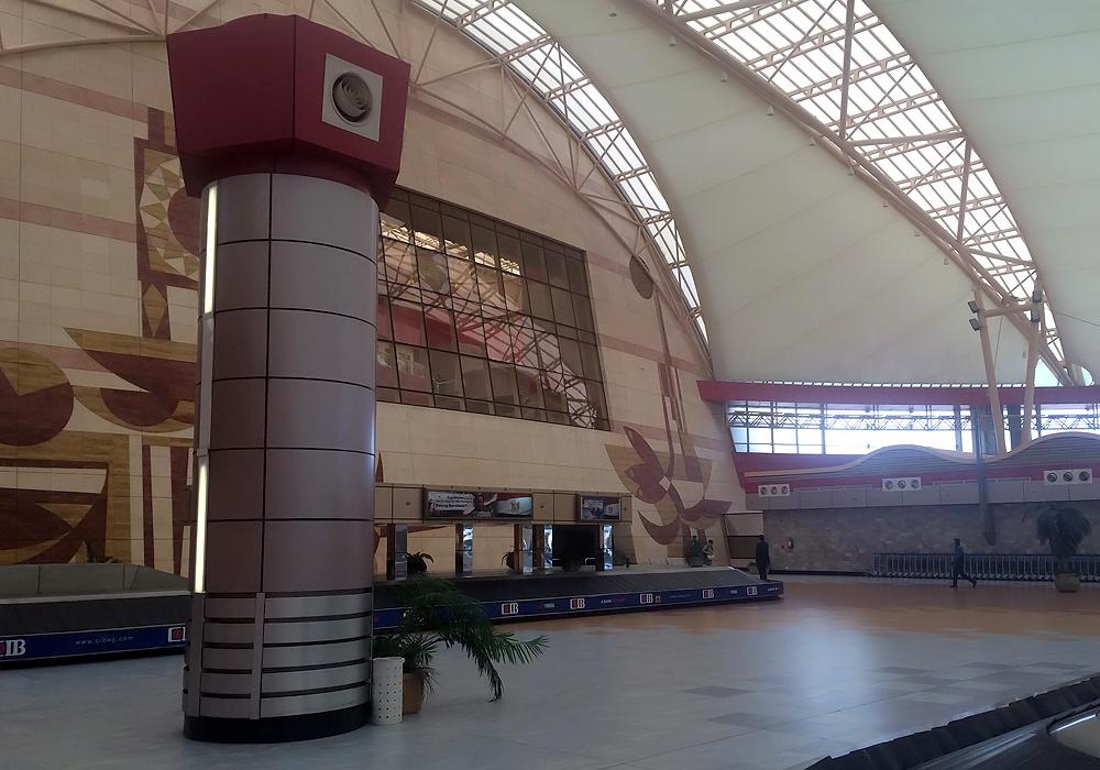 Зал выдачи багажа в международном терминале аэропорта Шарм-Эль-Шейх