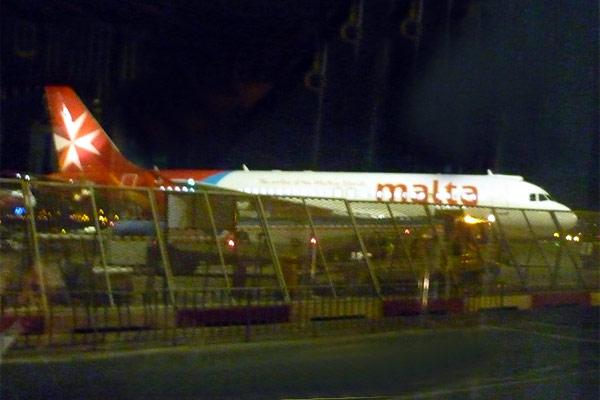 Мальта - Москва с Air Malta