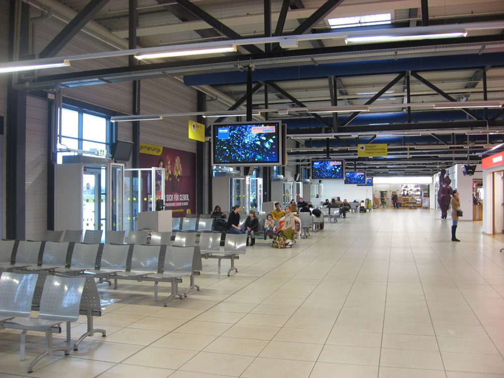Terminal D of Berlin Schohefeld Airport