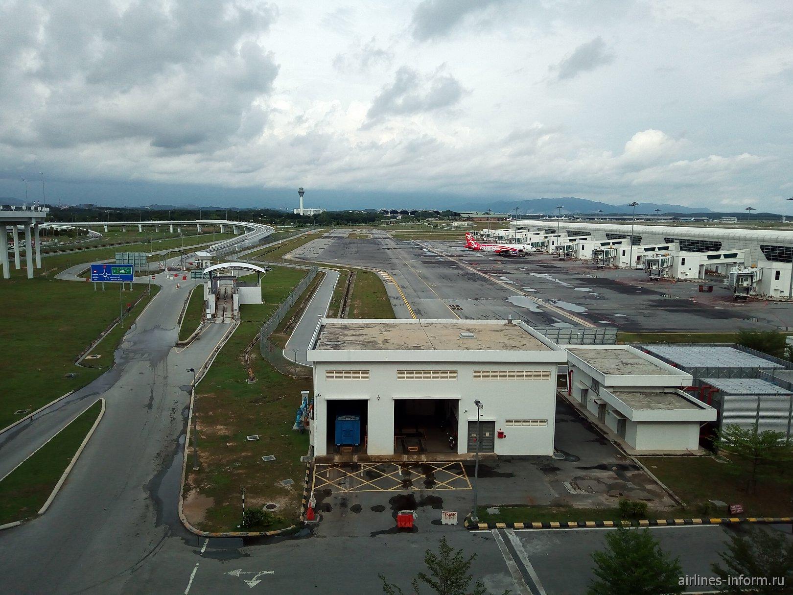 В международном аэропорту Куала-Лумпур