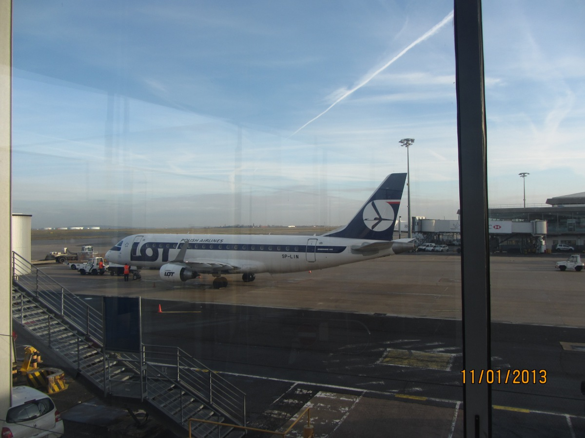 Embraer 175 of LOT Polish Airlines