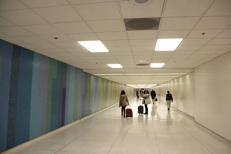 В аэропорту Лос-Анджелес