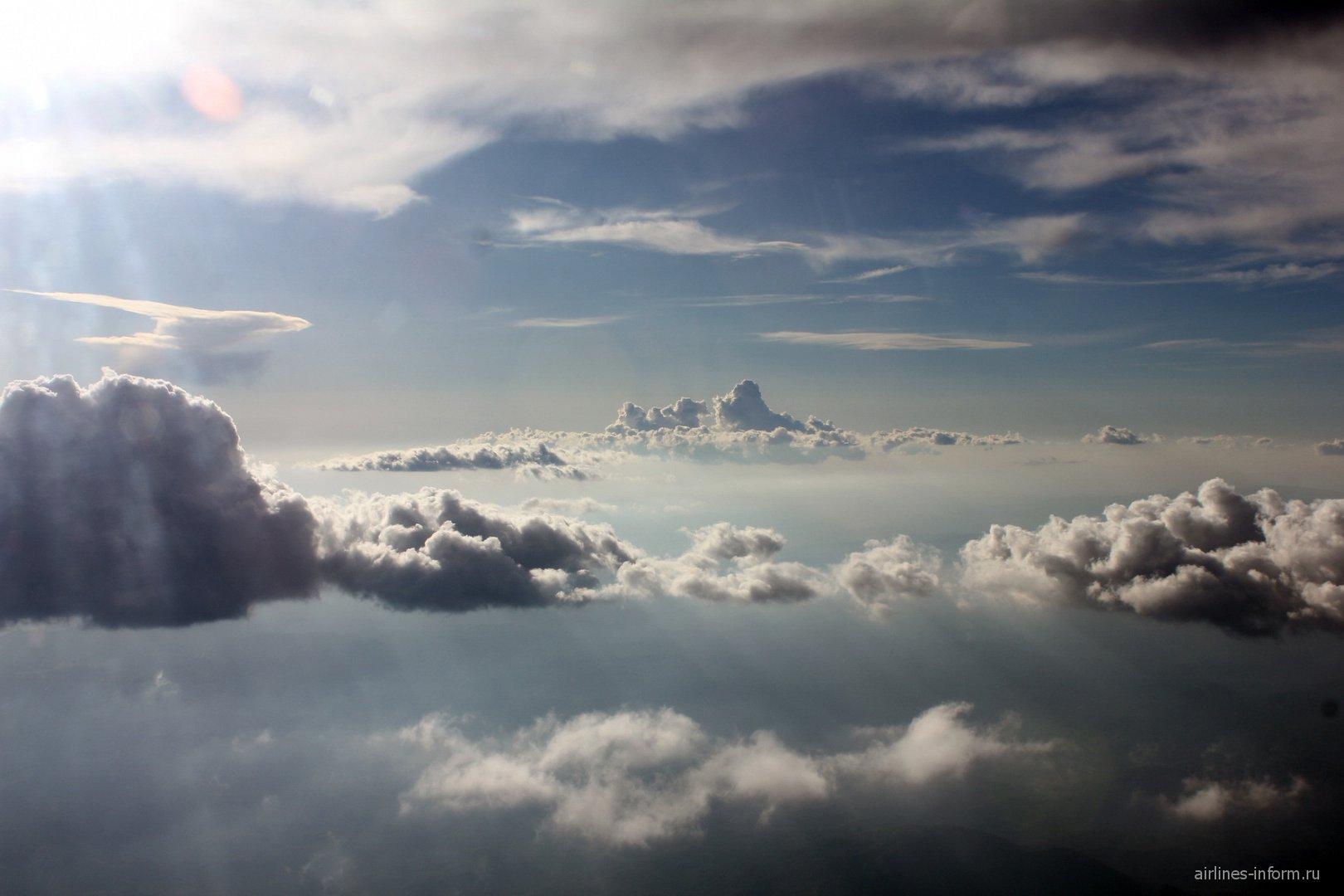 Облака над Черногорией