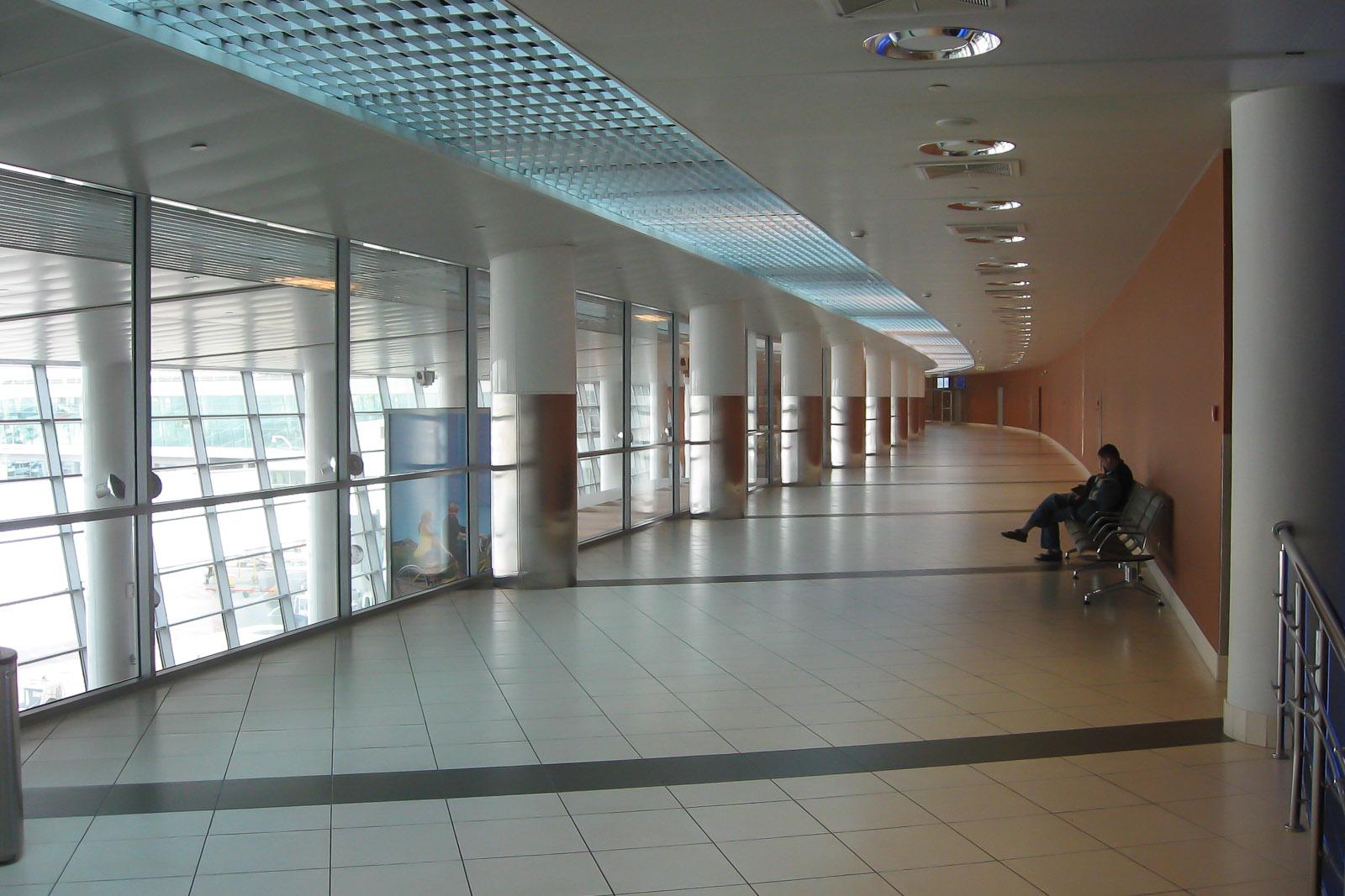 В терминале C аэропорта Шереметьево
