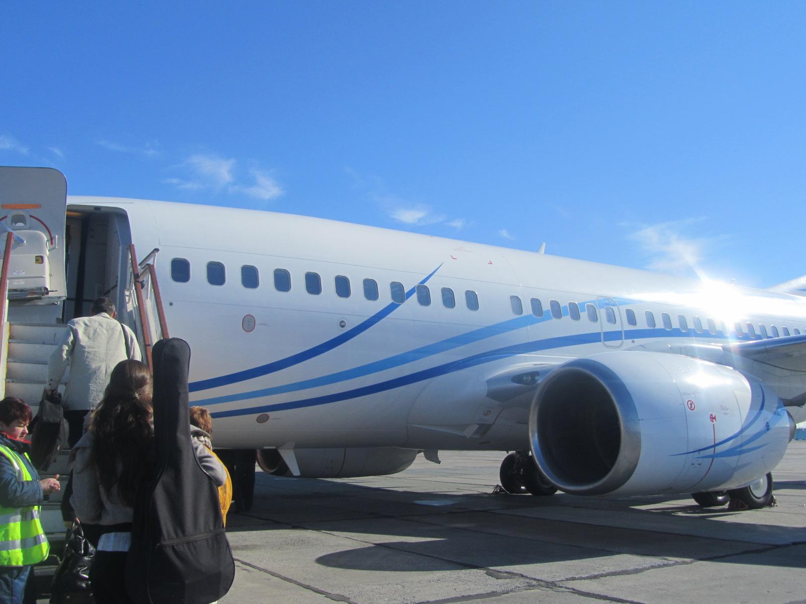 Перелёт Новый Уренгой-Москва на ГАЗПРОМАВИА