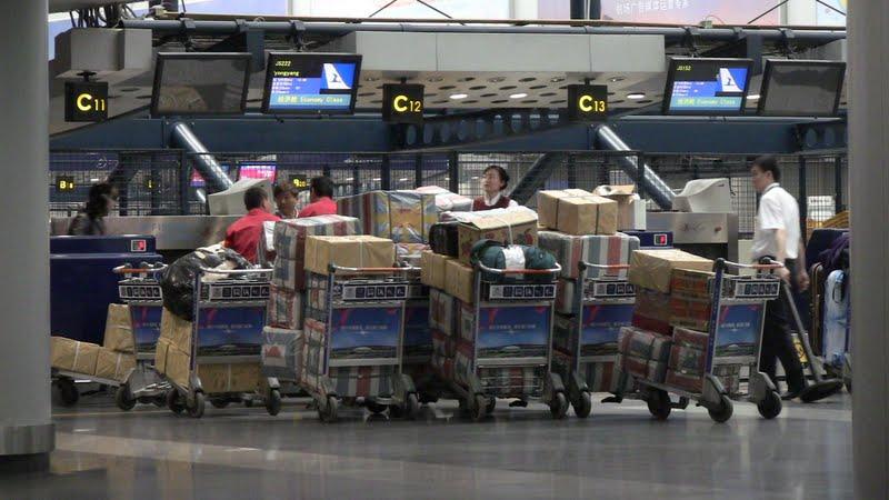 Регистрация на рейс Пекин-Пхеньян авиакомпании Air Koryo