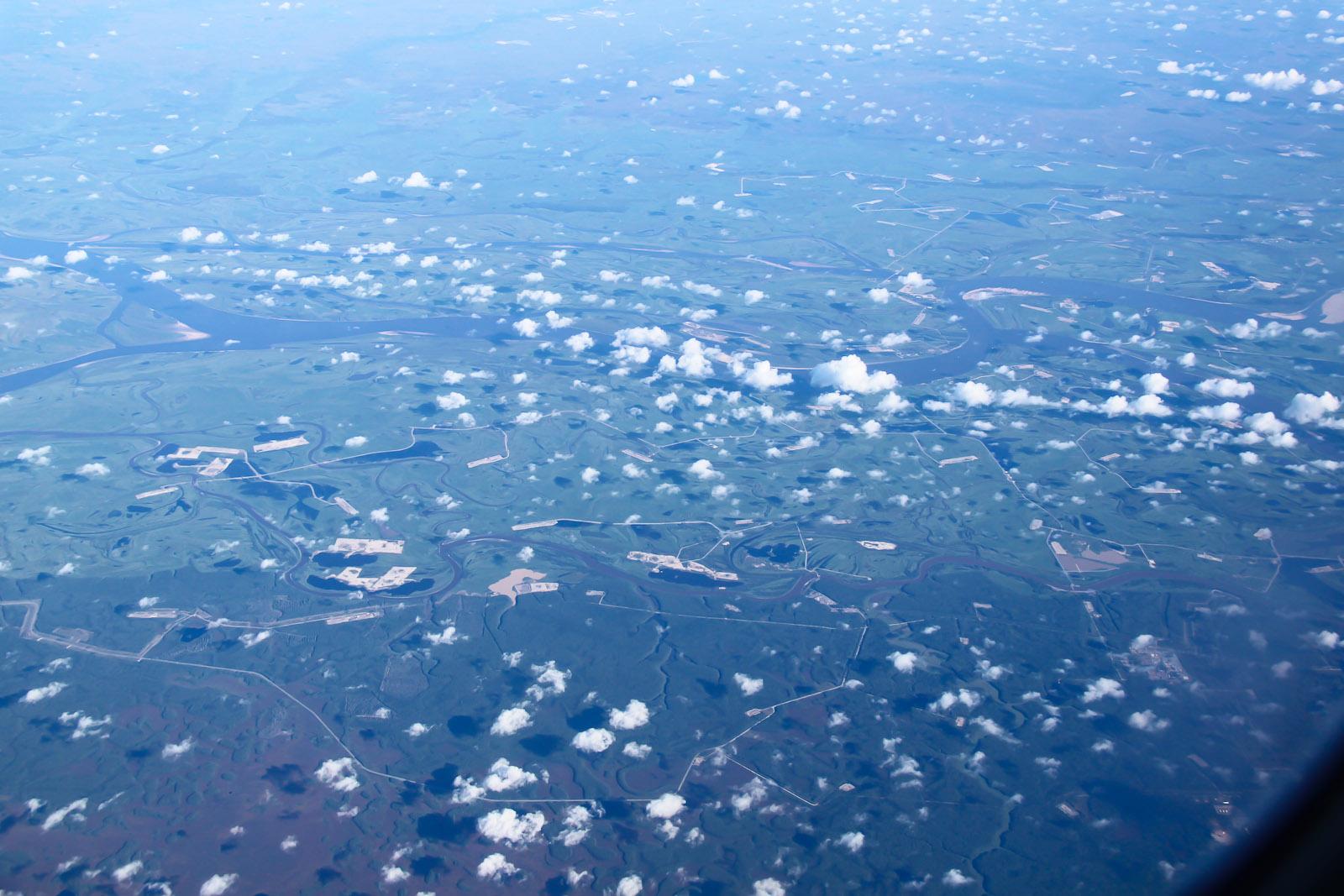 Полет над Западной Сибирью