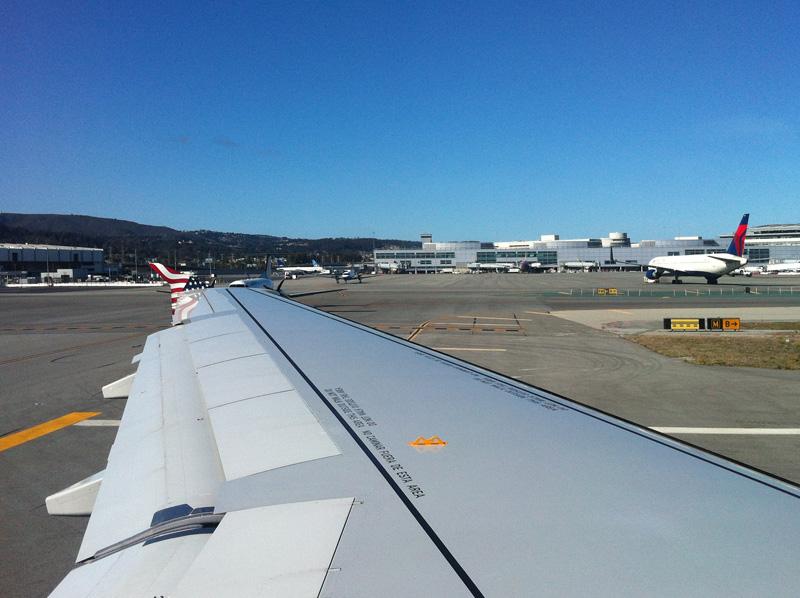 В аэропорту Сан-Франциско