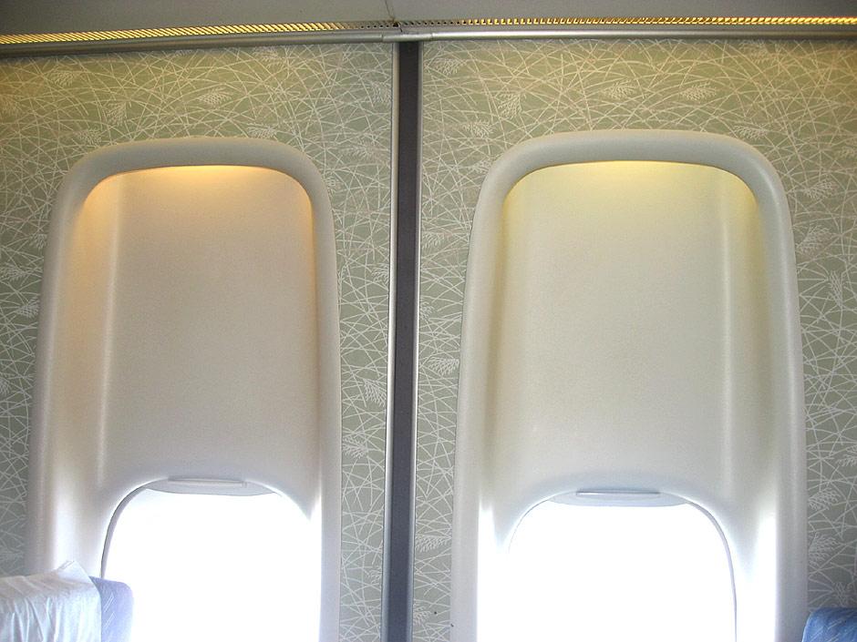 Панели салона Боинг-747-300