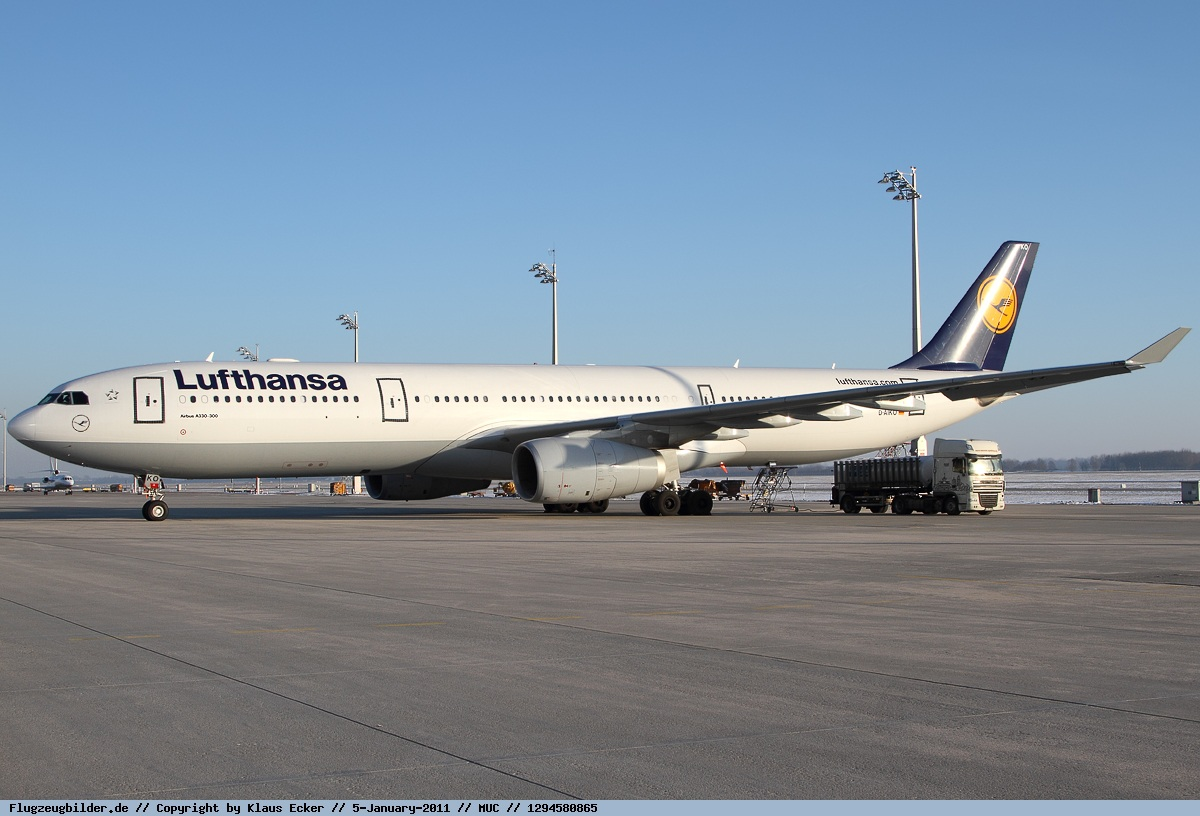 Самолет Airbus A330-300 авиакомпании Lufthansa