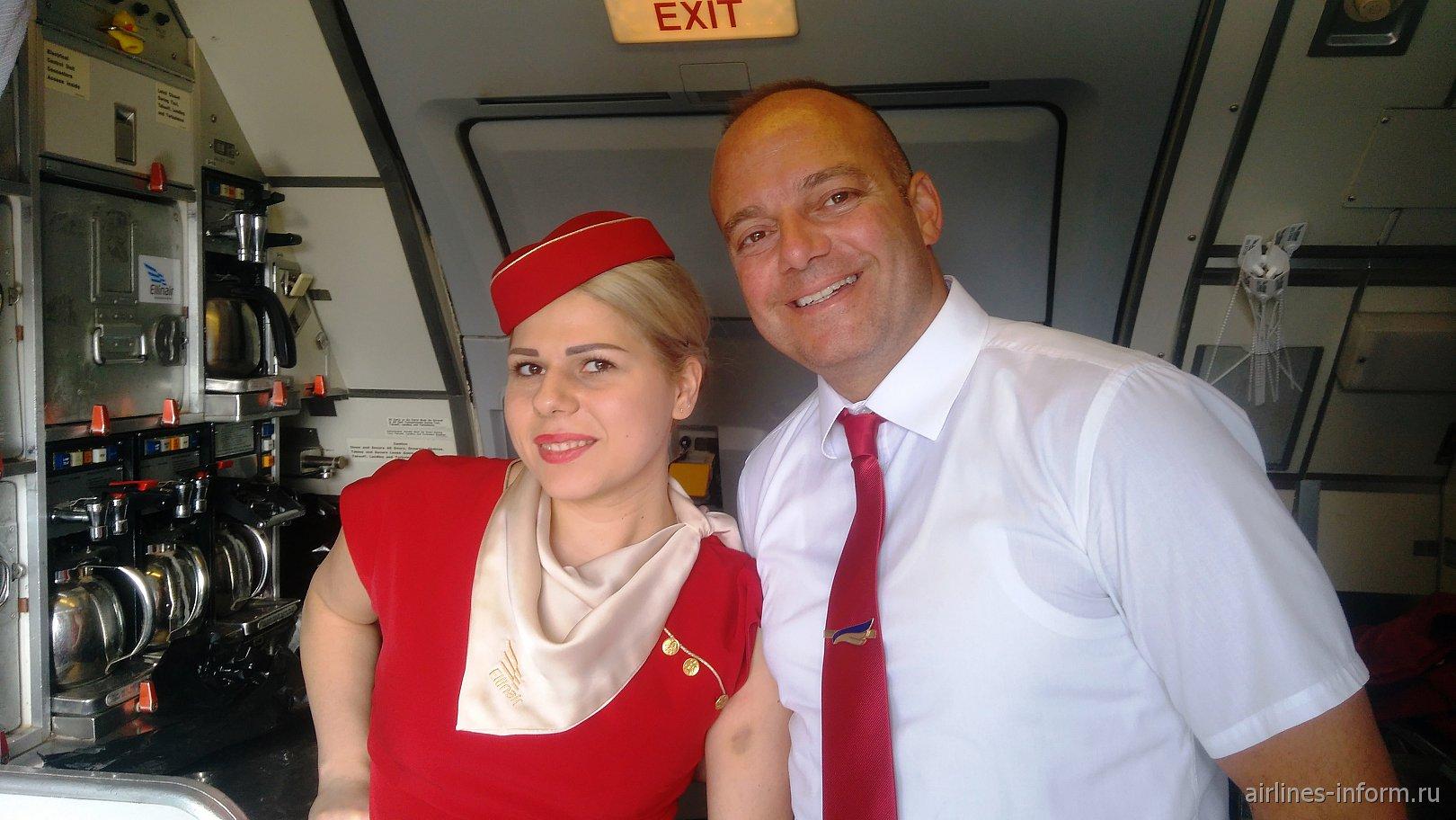 Бортпроводники авиакомпании Ellinair