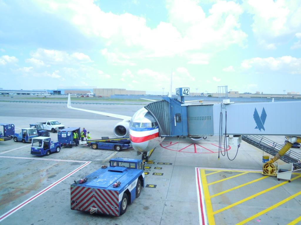 New York-Orlando with American Airlines