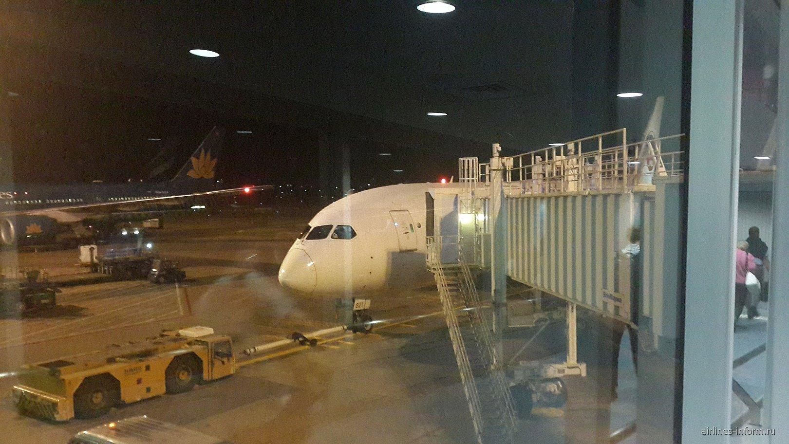 В Токио на Dreamlinere Japan Airlines