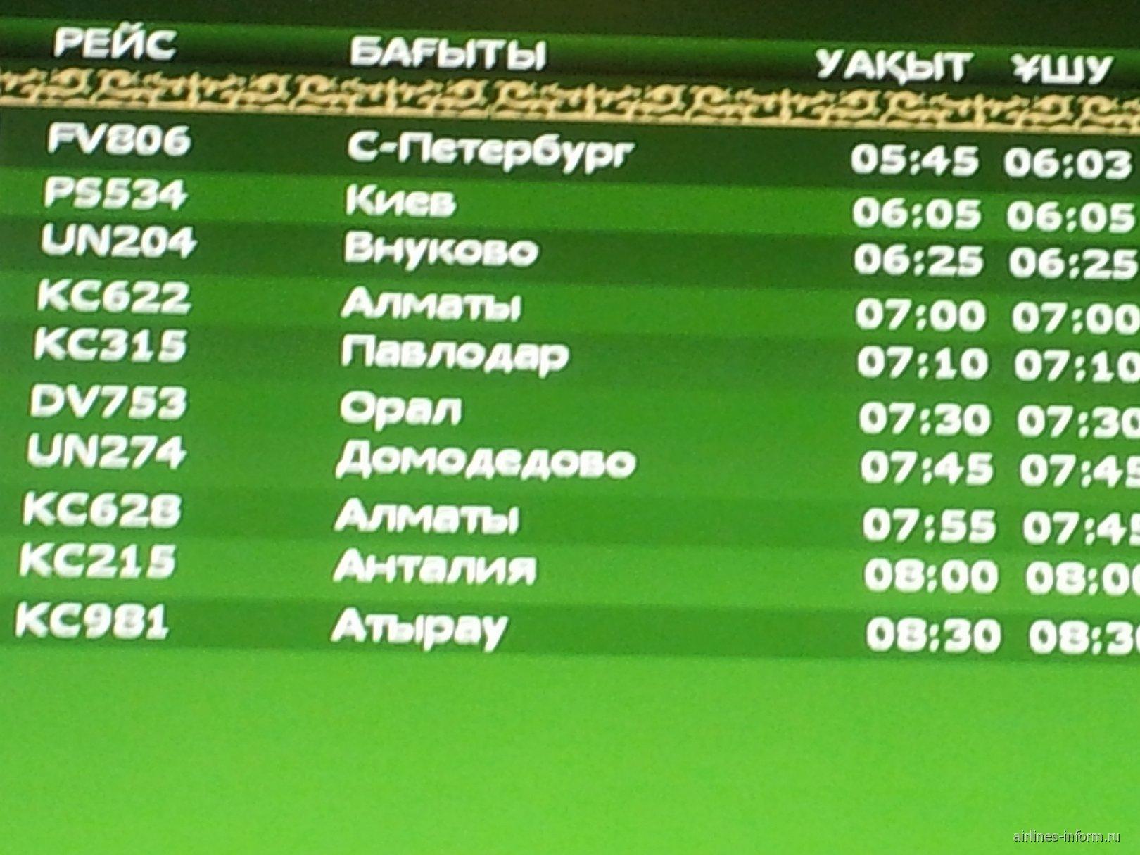 Аэропорт Астана