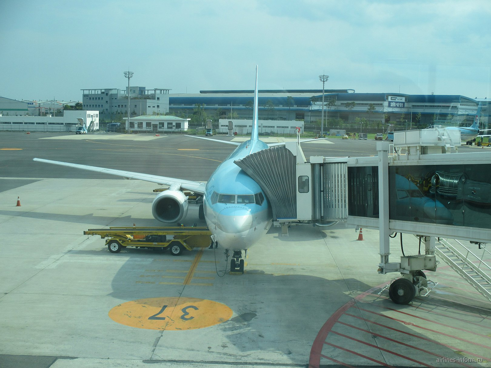 Отпуск в Корее. Часть 1 - Busan - Jeju с Korean Air на Boing-737-900