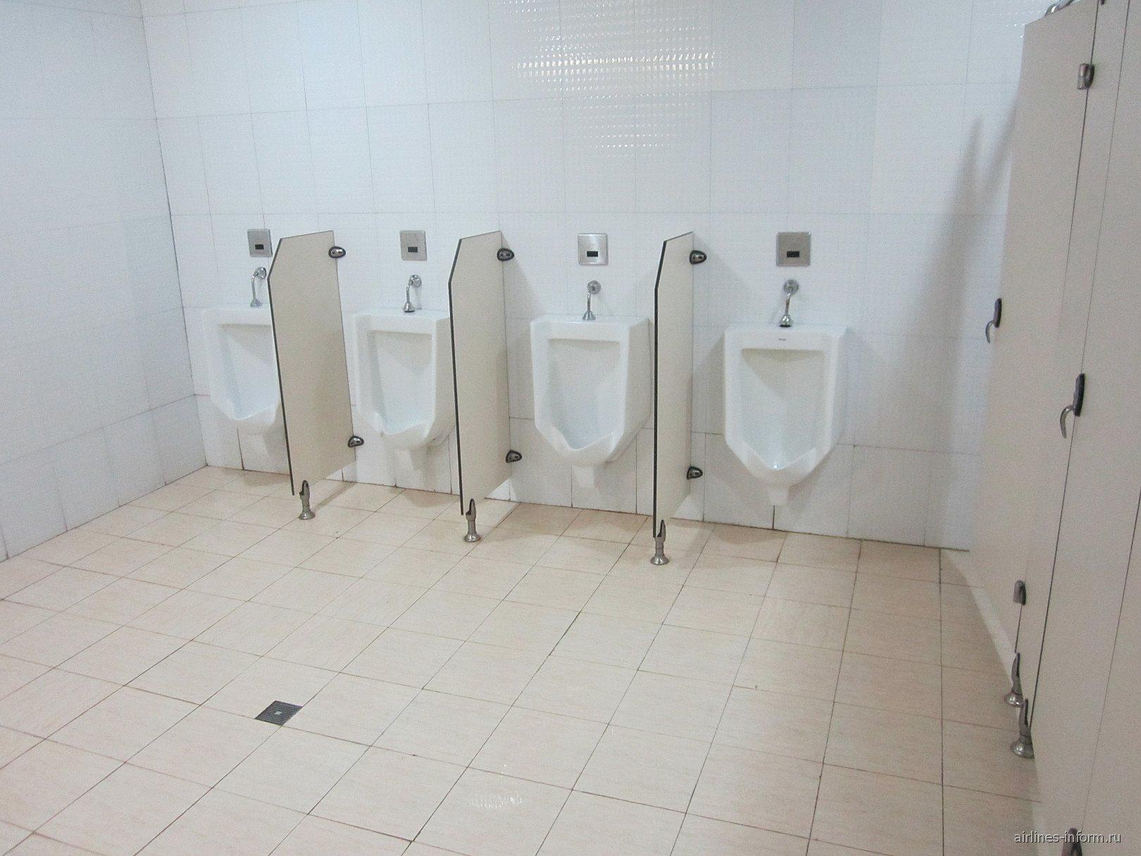 туалет в терминале