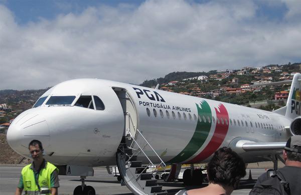 Funchal-Lisbon-Moscow с TAP Portugal. Voa mais alto - летайте выше!