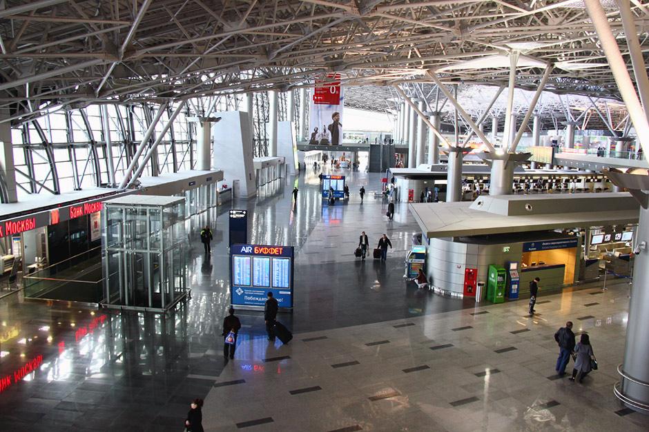 В терминале А аэропорта Внуково