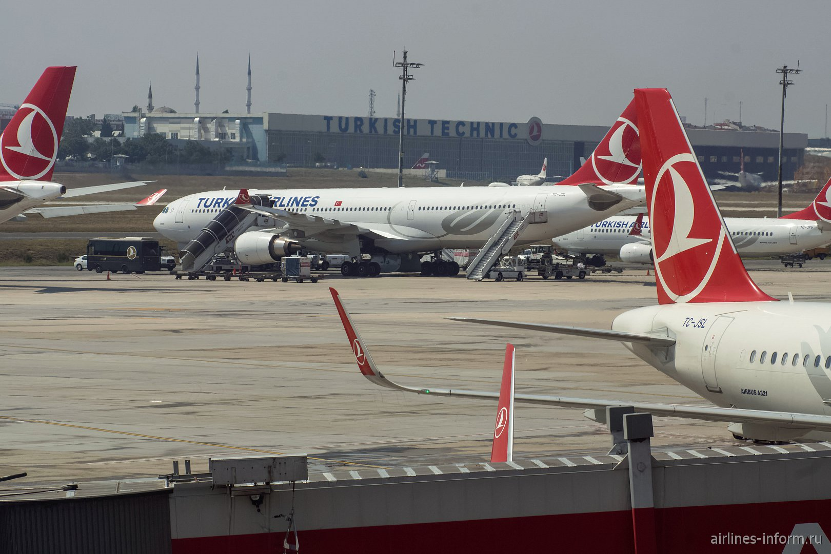 Widen Your World. Стамбул - Москва TK415 на A330-300 Turkish Airlines