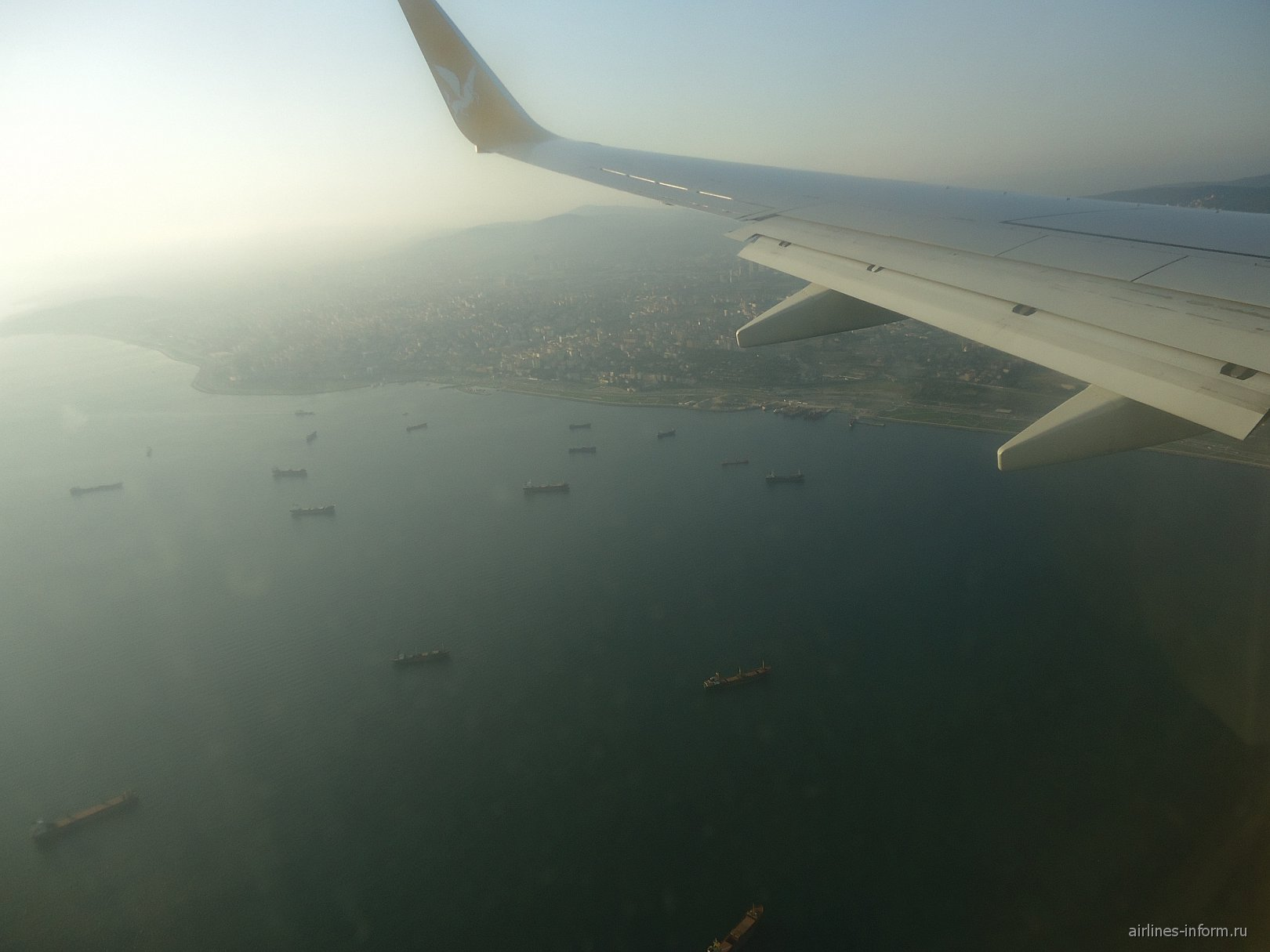 В полете над Стамбулом