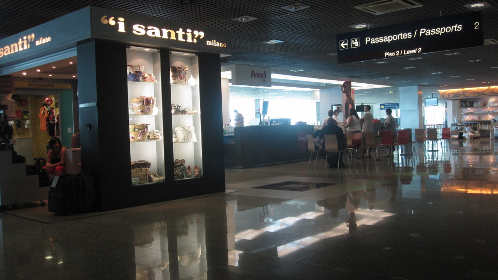 В аэропорту Фуншал Мадейра