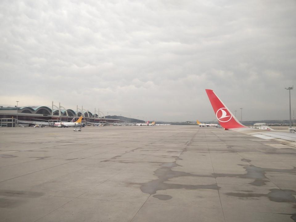 Перрон аэропорта Стамбул имени Сабихи Гёкчен