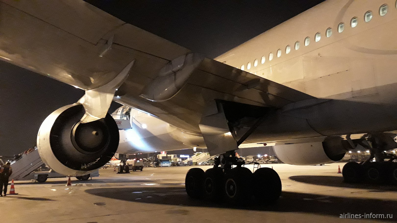 Путешествие в дальний край. Этап 2: «Турецкие авиалинии»  Стамбул – Гонконг на Боинге -777-300