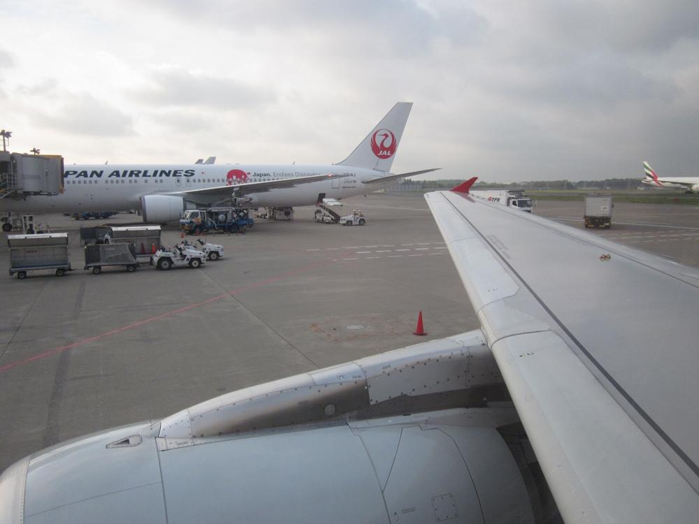 Вылет из аэропорта Токио Нарита
