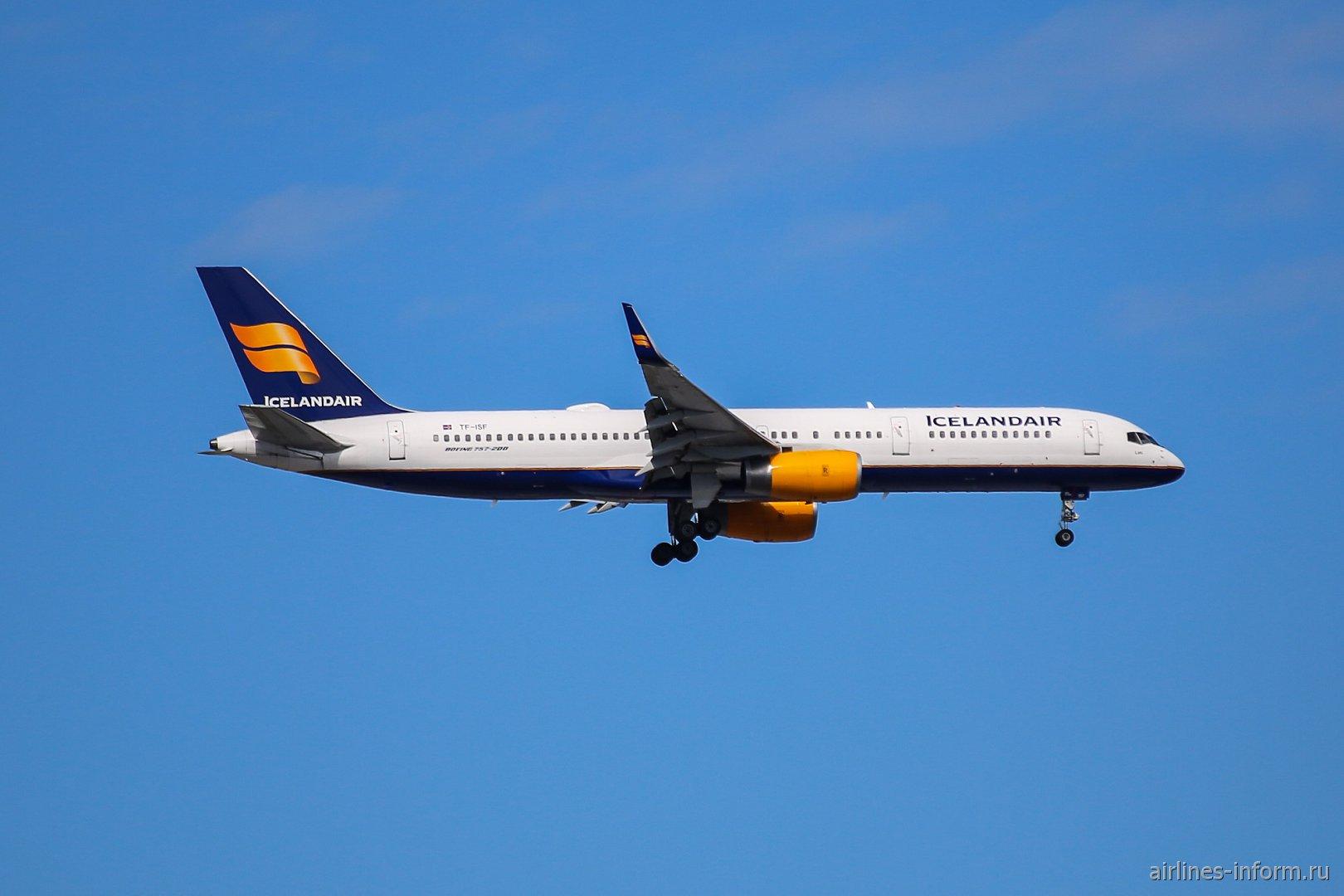Боинг-757-200 исландской авиакомпании Icelandair