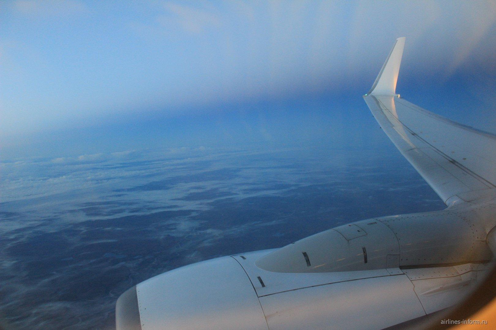 Рейс Москва-Норильск авиакомпании Нордстар