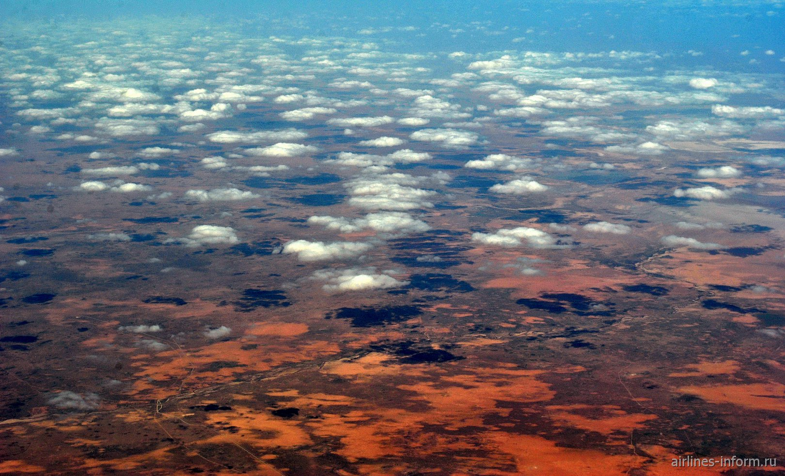 В полете над Алжиром