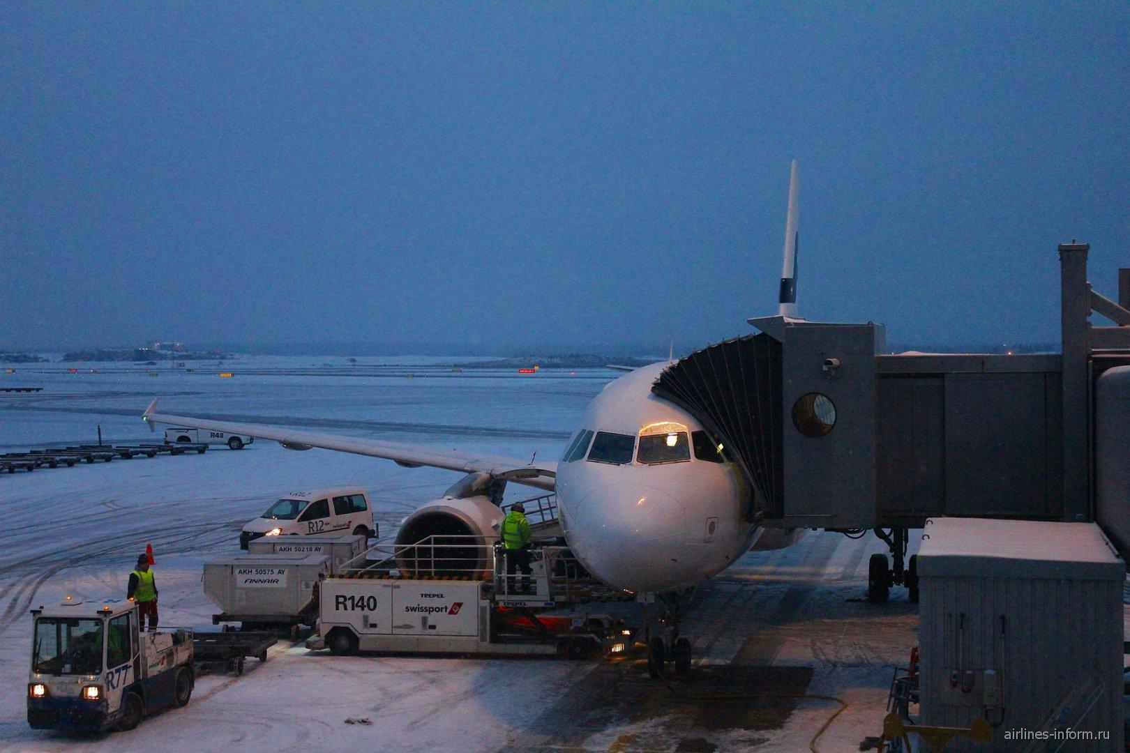 Новогоднее путешествие в Финляндию. Часть 4, Хельсинки(HEL)-Москва(SVO) с Finnair