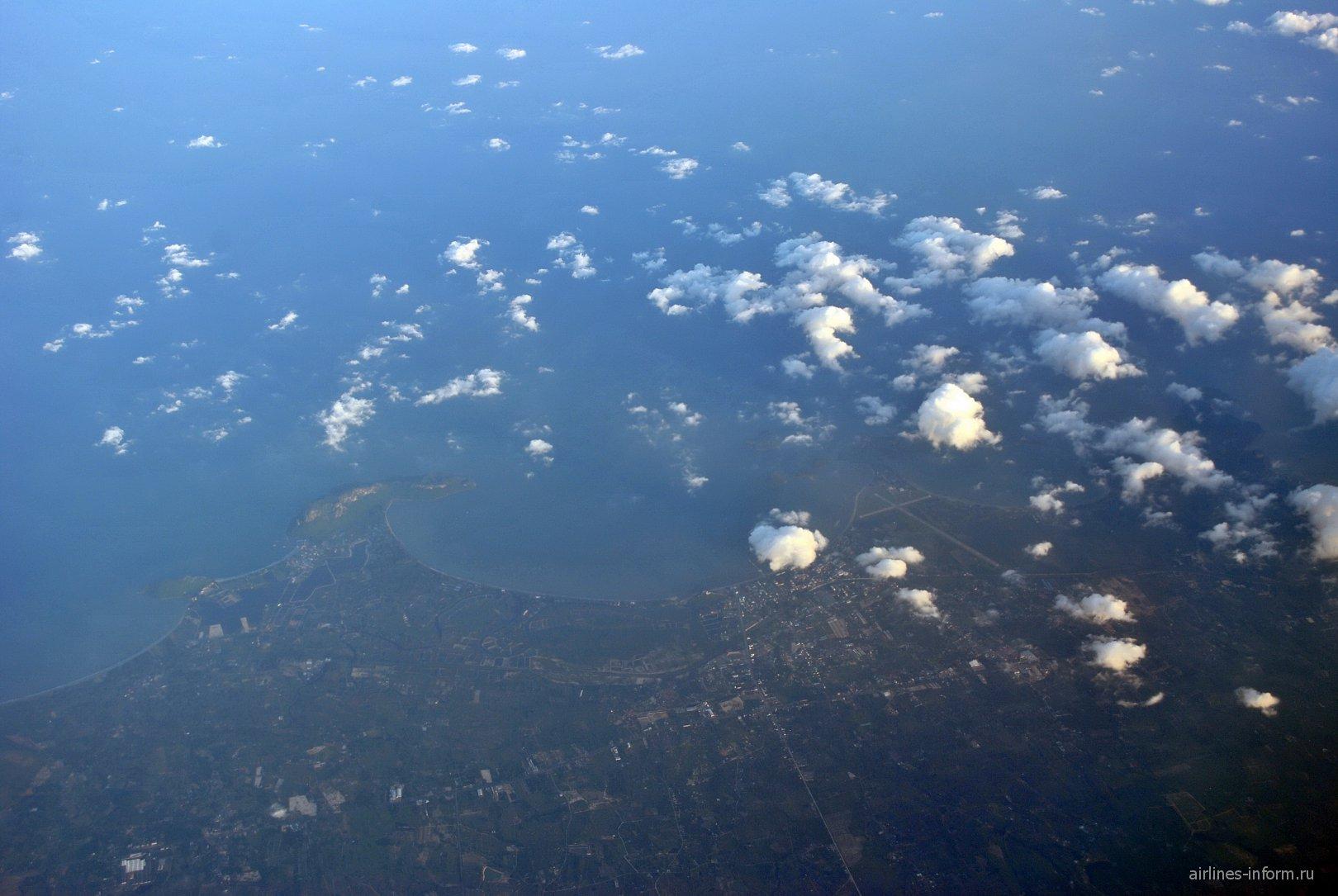 Побережье Сиамского залива в Таиланде