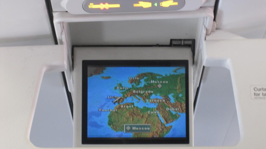 Полет Лиссабон-Москва на Airbus A319 авиакомпании TAP Portugal